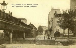 Sortie rue du gabon Villa du Bel-Air, de??but XXe s